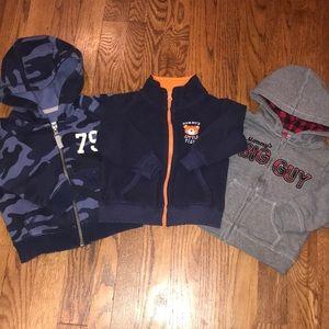 Boys sweatshirt lot